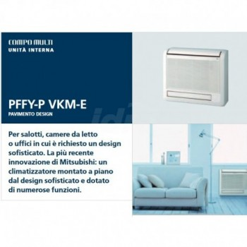 PFFY-P25VKM-E UI climatizzatore montato a piano dal design sofisticato e dotato di numerose funzioni 189175