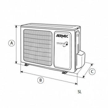 Climatizzatore condizionatore SL700 UNITA' ESTERNA R410A (SOLO UNITA' ESTERNA) RMCSL700