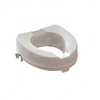 Rialzo WC alzawater h 10 cm con Sistema di bloccaggio Laterale AR-10-PP-KD - Sanitari per disabili e comunità
