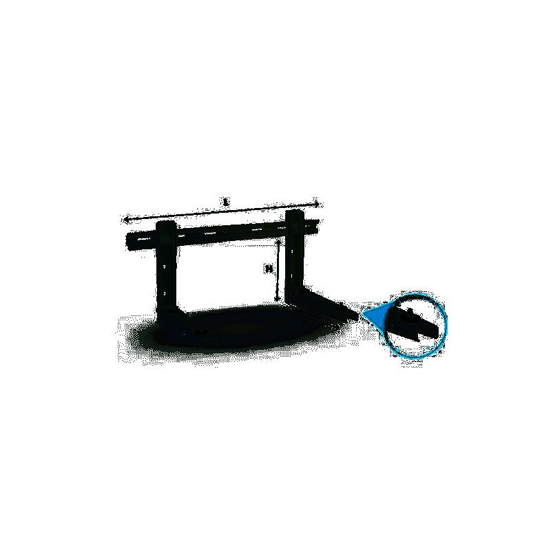 Staffa Premontata Atena 540X800X400 110Kg per climatizzatore esterno 9793-540-202 - Collari/Staffe/Mensole