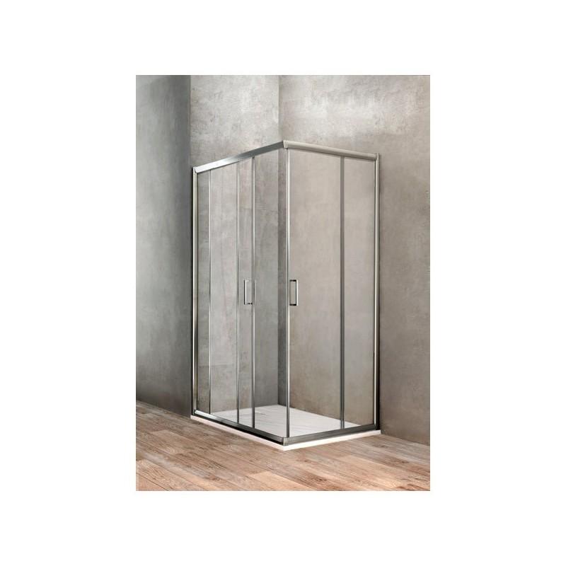 BOX DOCCIA UNO RETTANGOLARE 700X900 BBGOLT70900002 - Box doccia in cristallo