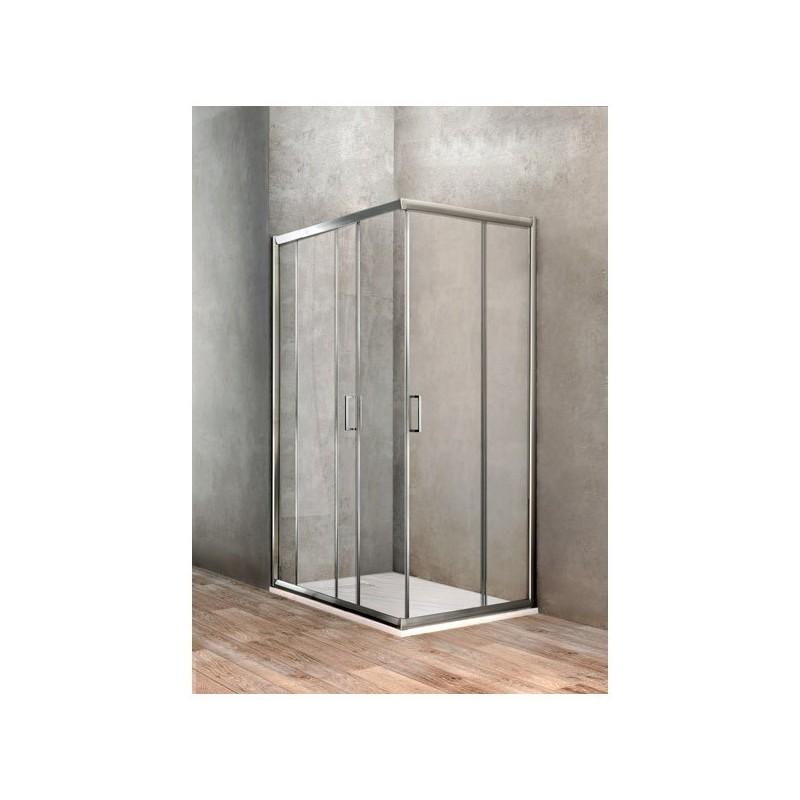 BOX DOCCIA UNO RETTANGOLARE 700X1000 BBGOLT70100002 - Box doccia in cristallo