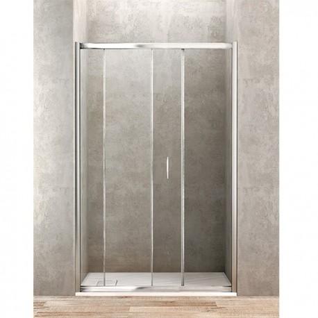 Box doccia UNO - 1700 mm con porta scorrevole per nicchie o angoli IDBBBGOLTPS170002