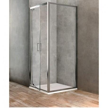 PARETE FISSA UNO 800 BBGOLTPF800002 - Box doccia in cristallo