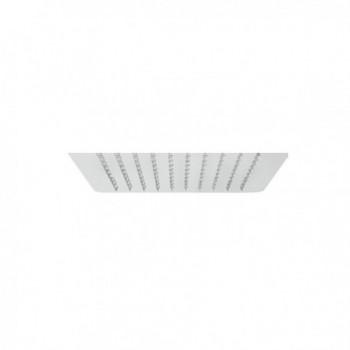 Soffione quadrato PLUVIO ultrasottile. 30x30 cm, 2 mm di spessore IDBBNSOFXSF290002