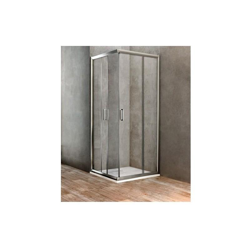 Box doccia UNO quadrato cm 70x70 IDBBBGOLT70700002