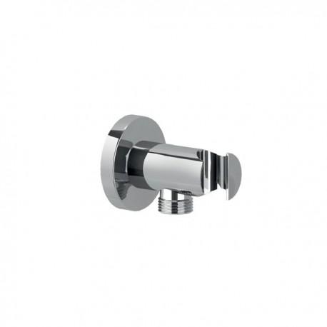 Presa d'acqua con supporto in ottone per doccetta. Modello 1210 IDBBNPRECPA090002