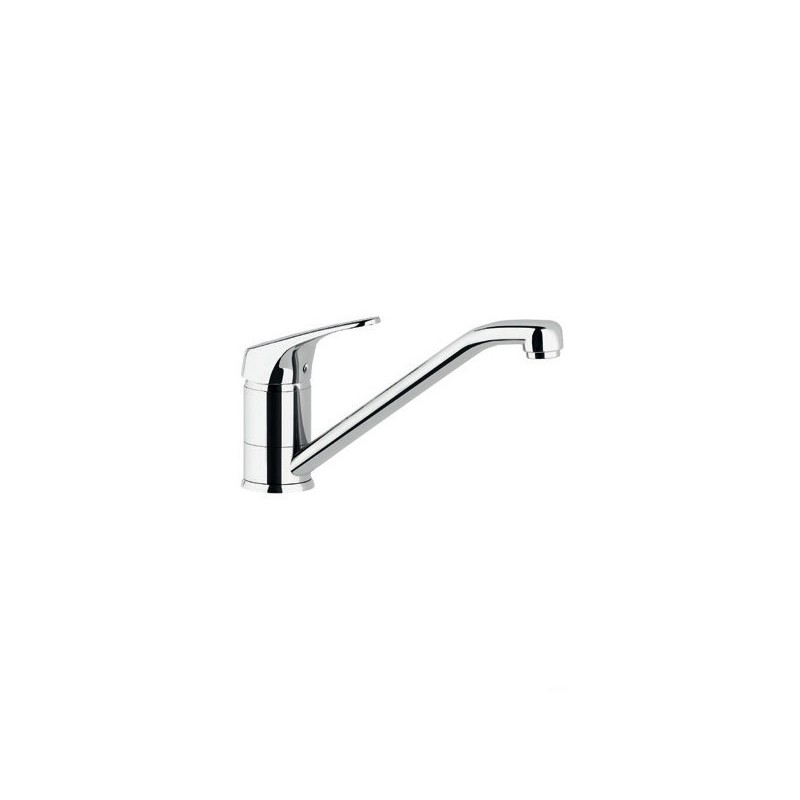 Miscelatore rubinetto lavello SILVER con collo girevole. Cartuccia da 40 mm. BTMARCCU010002