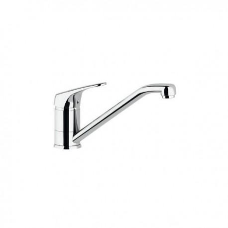 Miscelatore rubinetto lavello SILVER con collo girevole. Cartuccia da 40 mm. BTMARCCU010002 - Per lavelli