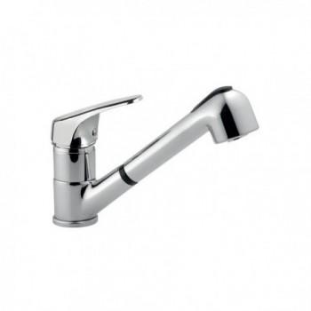 Miscelatore rubinetto SILVER lavello, doccetta BTKEACLA070002