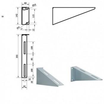 Staffe per lavabo fisso IDB401-E-VALE