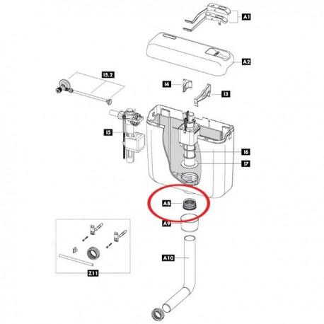 Guarnizione tubo cacciata IDB243281