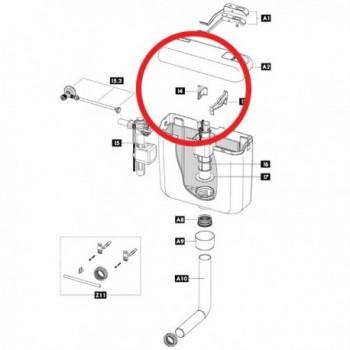 Supporto valvola riempimento attacco posteriore IDB243285
