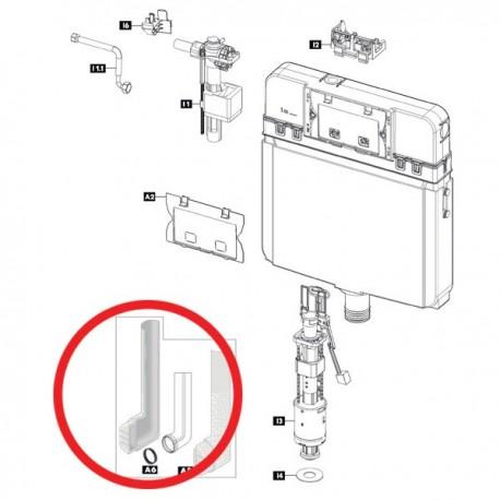 Guarnizione tubo di cacciata 352277 - Cassette di risciacquo