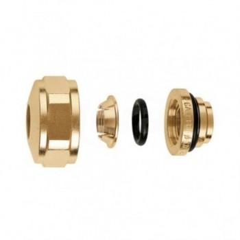 """347 Raccordo meccanico per tubo rame a tenuta O-Ring. 3/4"""" - Ø 15 347515 - Collettori di distribuzione"""
