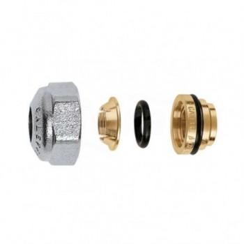 437 Raccordo meccanico, per tubo in rame a tenuta O-Ring ø23/1,5x14 per rame CAL437014