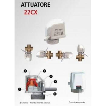 ATTUATORE ELETTROTERMICO IP54 230V 22CX 7080112110