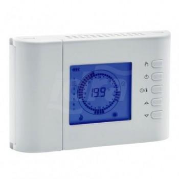 Cronotermostato digitale settimanale alimentato a batteria per funzionamento caldo/freddo SEITCW02B-IDRA