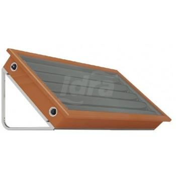 EGO Smart.Solar.Box - Colore Rosso Coppo: Sistema solare termico a circolazione naturale, compatto ed integrato, ALL-IN-ONE 1020001501