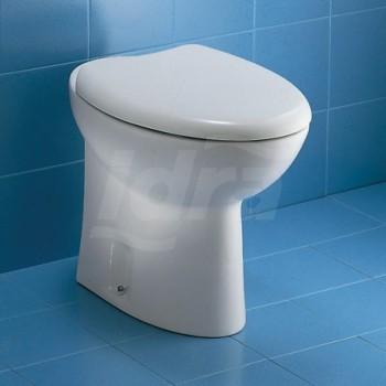 NOVELLA wc universale con sedile 58x36 bianco J061000