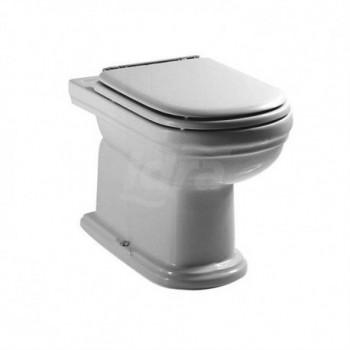 CALLA wc scarico S con sedile bianco europa con cerniere cromate T302861