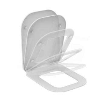 TONIC II sedile slim a chiusura rallentata per wc bianco europa K706501