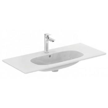 TESI lavabo TOP con foro 102,5x45 bianco europa T350801