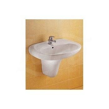 GARDA semicolonna 23x36 per lavabo bianco J041600