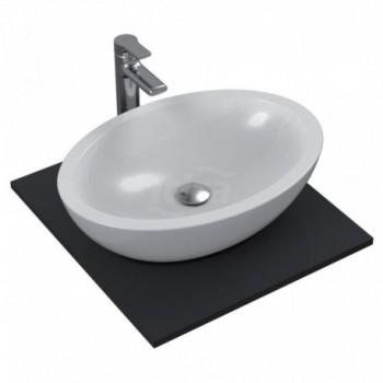 STRADA lavabo da appoggio OVALE 60x42 bianco europa K078401