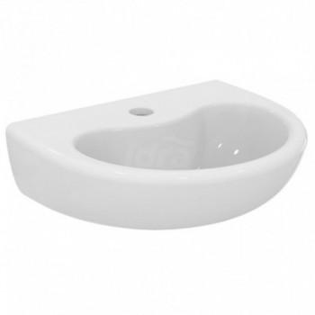CONTOUR 21 SCHOOL lavabo monoforo 40x33 bianco europa S263901