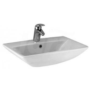 CANTICA lavabo CENTR. monoforo 70x50 bianco europa T087761