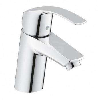 Eurosmart new rubinetto per lavabo, bocca normale, corpo liscio, GROHE SilkMove, GROHE EcoJoy 32467002