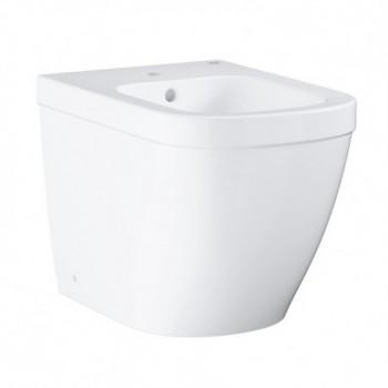 Euro Ceramic bidet a pavimento, bianco 39340000