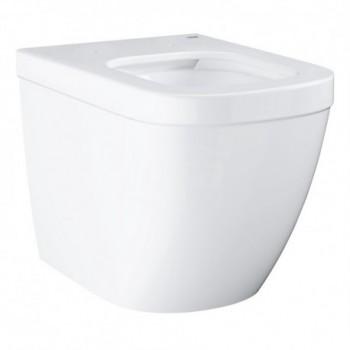 Euro Ceramic vaso a pavimento filo parete rimless, bianco 39339000 - Vasi WC
