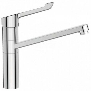 CERAFLEX - Miscelatore rubinetto monocomando da appoggio su lavello con leva lunga BC137AA - Per lavelli