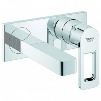 Quadra Miscelatore rubinetto Monocomando per Lavabo, con Installazione a Parete, Cromo 19479000 - Per lavabi