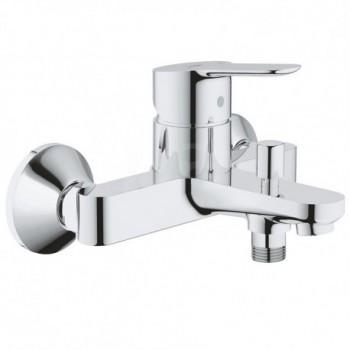 BAUEDGE Miscelatore rubinetto monocomando per vasca/doccia finitura cromo 23334000
