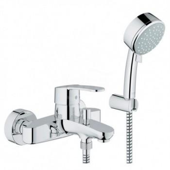 Eurostyle Cosmo Miscelatore rubinetto Monocomando Vasca Doccia con Dotazione Doccia 33592002 - Gruppi per vasche