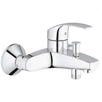 Eurosmart new rubinetto per vasca, deviatore automatico vasca/doccia, GROHE SilkMove 33300002 - Gruppi per vasche