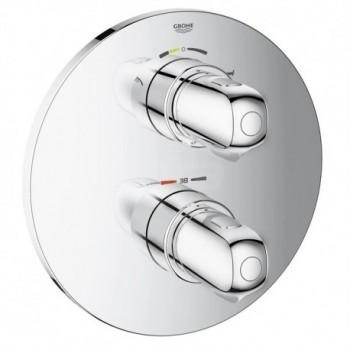 Grohtherm 1000 New Miscelatore termostatico con deviatore a 2 vie (vasca o doccia) per termostatico da incasso GROHE Rapido T finitura cromo 19986000