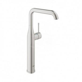 Essence New Miscelatore rubinetto monocomando per lavabo a bacinella taglia XL, finitura super steel 32901DC1 - Per lavabi