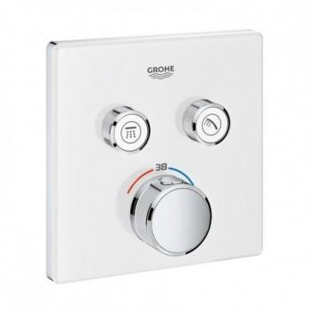 Grohtherm SmartControl Miscelatore rubinetto termostatico a 2 vie, finitura moon white 29156LS0