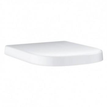 Euro Ceramic sedile con coperchio, in termoindurente, bianco 39331000