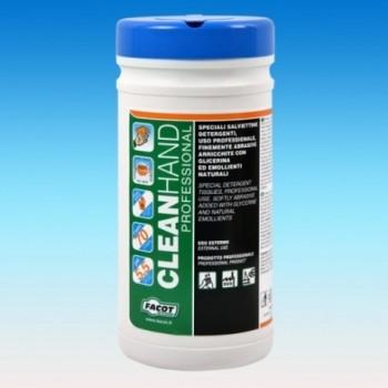 Salviettine detergenti batteriostatiche lavamani CLEAN HAND PROFESSIONAL CLEANHAND0070