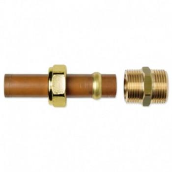 NIPPLE OTT. UNIONE A RAME De22 X TUBO DN15 A03-0001-01584
