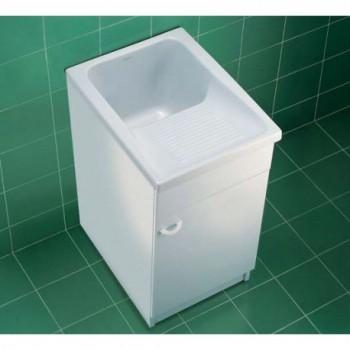 PERU'46 vasca lavatoio bianco per installazione su mobile, dim. 610x460 mm J089700