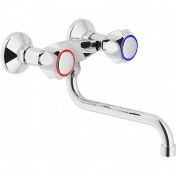 Miscelatore rubinetto gruppo esterno girevole lavello, Nobili Nuova Flora SE124118/1BM - Per lavelli