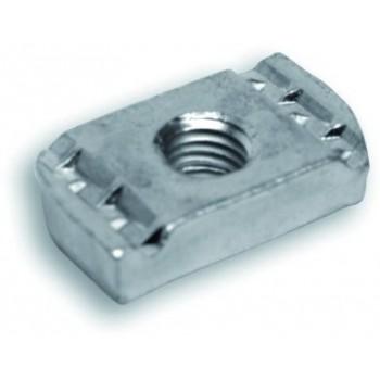 213/RT DADO RETT. M8 X PROFILO 41x41x2,5mm 213008041