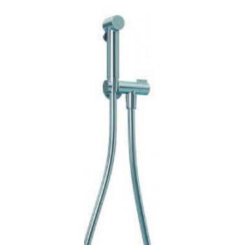 Kit con presa d'acqua e rubinetto on/off integrato. Flessibile antitorsione. 1500 mm. Doccetta Sanitaria. BNKITCKI510002