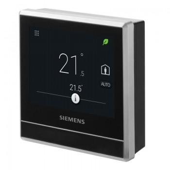 RDS110 Cronotermostato smart. Termostato ambiente per il controllo del riscaldamento in uso residenziale. Con accesso remote ...
